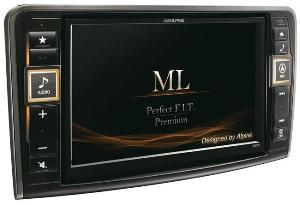 Autoradios-Navigations Alpine - X800D-ML - Systeme Multimedia GPS Premium Alpine pour Mercedes ML W164 et GL X164