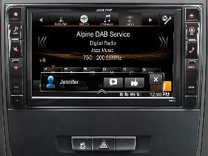 Autoradios-Navigations Alpine - X800D-V447 - Systeme Multimedia GPS Premium Alpine pour Mercedes Vito V447