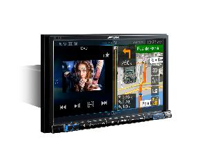 Autoradios-Navigations Alpine - X801D-U - Station GPS Multimedia 1DIN WMA/MP3/AAC/FLAC - Bluetooth - USB/iPod - iPhone/Android - Ecran 8p - Navigation