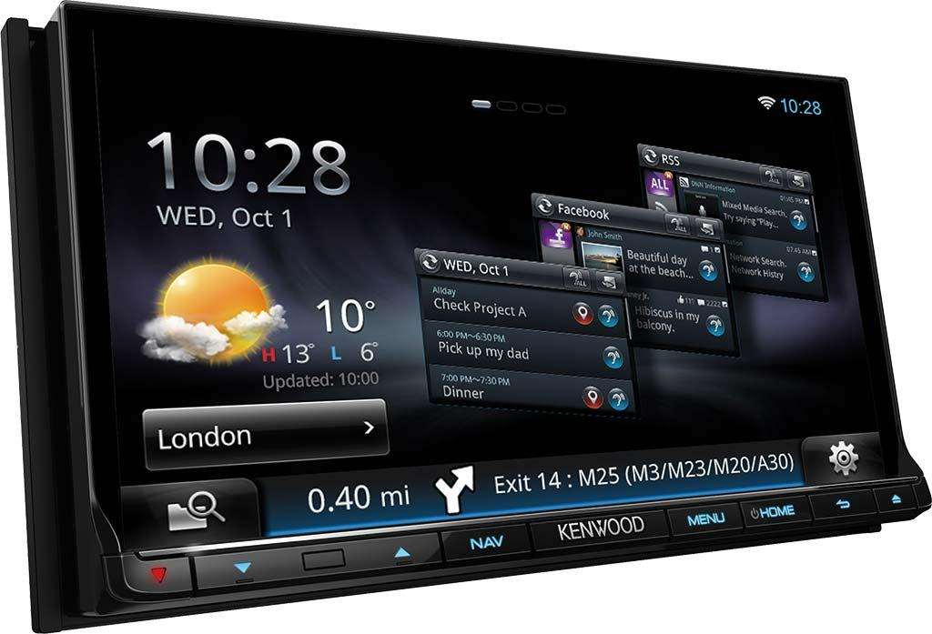 autoradio navigation avec gps kenwood dnn9250dab 222835. Black Bedroom Furniture Sets. Home Design Ideas