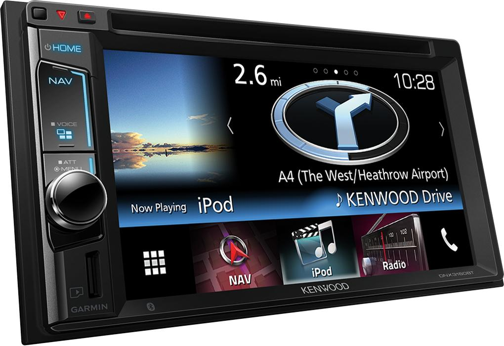 kenwood dnx3160bt autoradio 2din usb dvd navigation. Black Bedroom Furniture Sets. Home Design Ideas