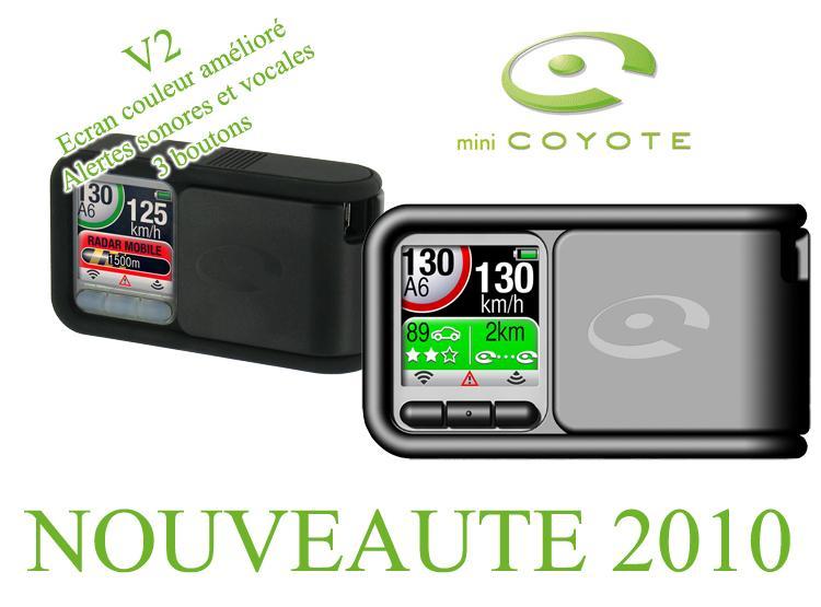 mini coyote plus assistant aide a la conduite abonnement 3 mois inclus conforme loi 2012 75215. Black Bedroom Furniture Sets. Home Design Ideas