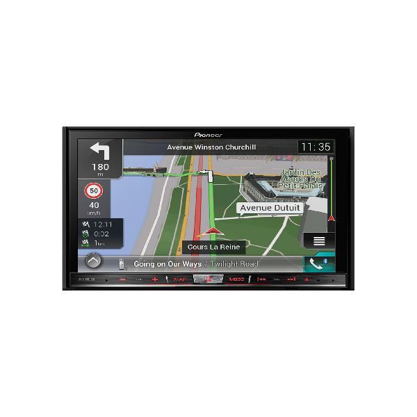 AVIC-F80DAB - NavGate DVD/CD - 2xUSB - CarPlay/Android - Bluetooth - Navigation Europe -> AVIC-Z810DAB