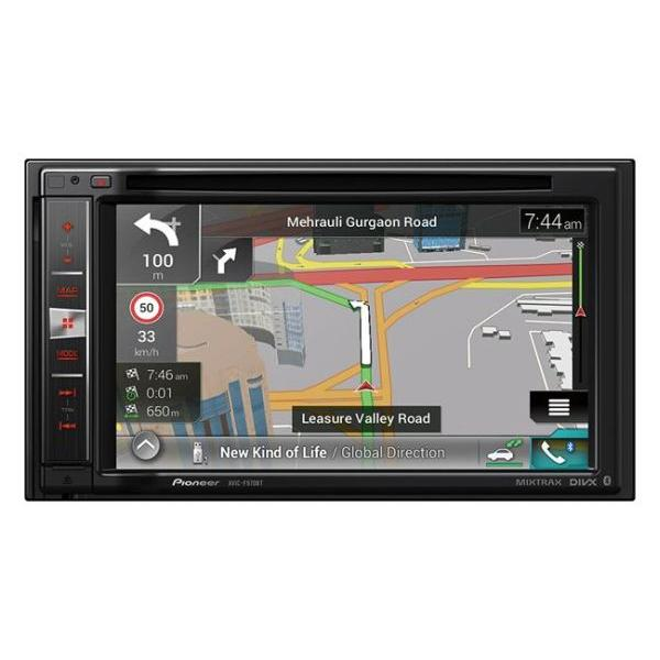 AVIC-F970BT - NavGate DVD/CD - DiVX - 2xUSB - CarPlay/Android - Bluetooth - Mixtrax - Navigation Eur