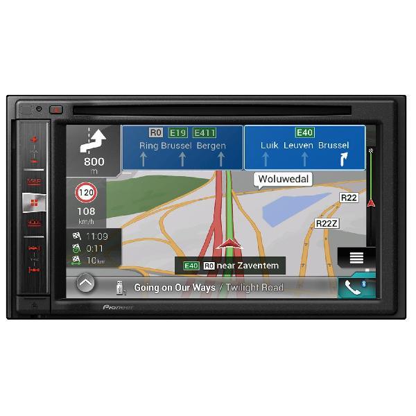 AVIC-F980BT-C-BC4 - NavGate DVD/CD/USB - CarPlay/Android/Bluetooth - Navigation Camping-car + Camera recul