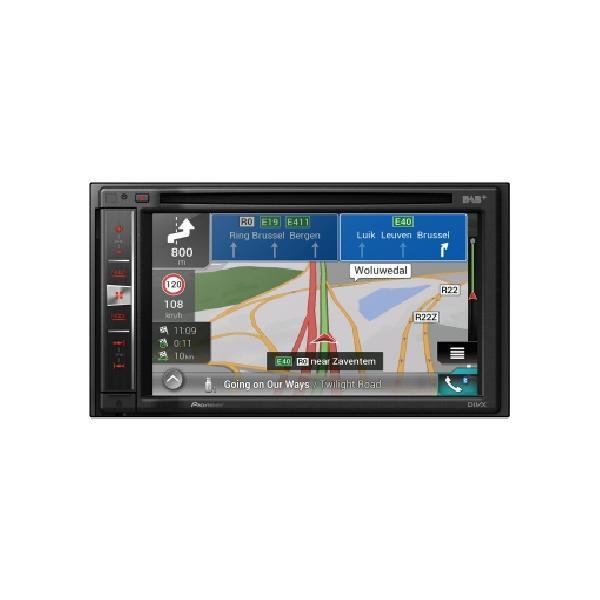 AVIC-F980DAB - NavGate DVD/CD - 2xUSB - CarPlay/Android - Bluetooth - DAB - Navigation - AVIC-Z710DAB