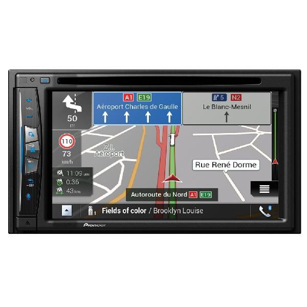 AVIC-Z610BT - Systeme AV Navigation - DVD/CD - 2xUSB - CarPlay/Android - Bluetooth - Here