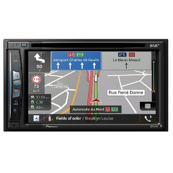 AVIC-Z710DAB-C - NavGate DVD/CD - 2xUSB - CarPlay/Android - Bluetooth - DAB - Navigation Camping-car
