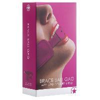 Baillonner Touche - Baillon rose Brace Ball