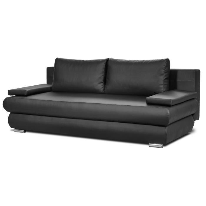 clyde banquette convertible avec coffre de rangement en. Black Bedroom Furniture Sets. Home Design Ideas