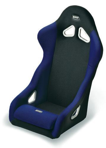 baquets omp rallye noir bleu 21979. Black Bedroom Furniture Sets. Home Design Ideas