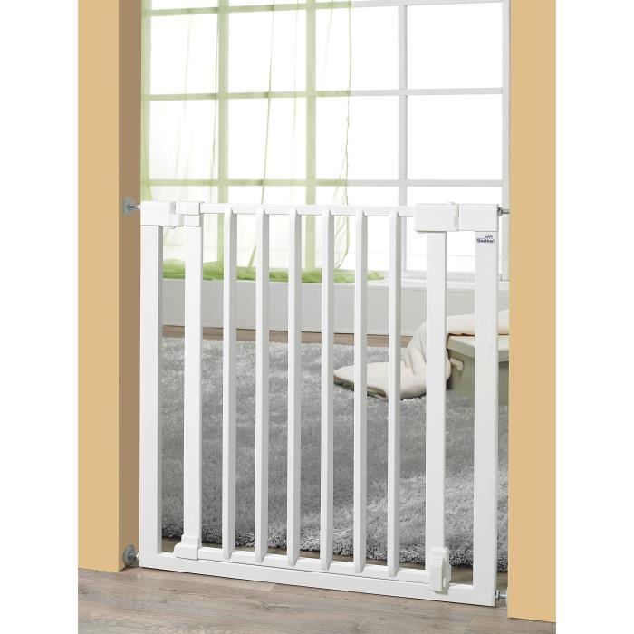 Barriere de securite bebe mid plateforme de distribution e commerce - Barriere escalier sans percer ...