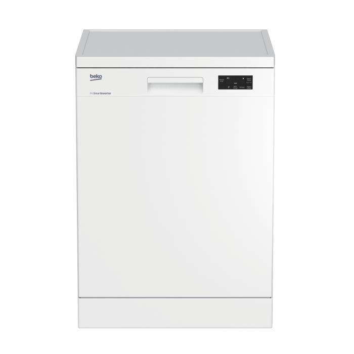Beko dfn16420w lave vaisselle posable 14 couverts 45db a larg 60 - Lave vaisselle 14 couverts ...