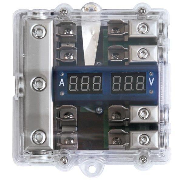 Bloc de distribution AGU avec voltmetre 4GAX3/8GAX4