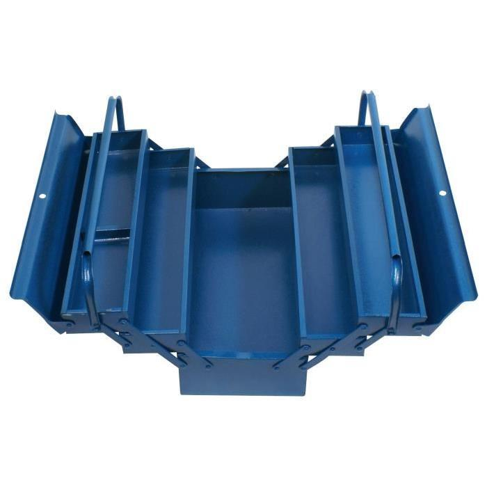 cogex caisse a outils vide metal 5 compartiments 233887. Black Bedroom Furniture Sets. Home Design Ideas