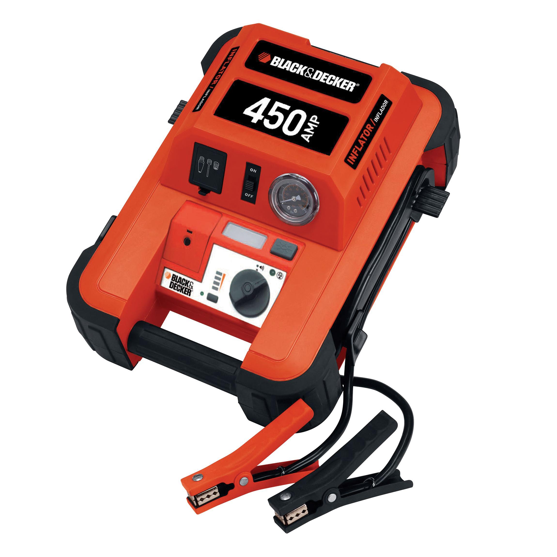 Booster de batterie station de demarrage mid - Compresseur black et decker 50l ...
