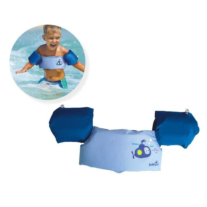 Babysun babysun ceinture brassards 2 en 1 bleu 454908 for Securite enfant piscine