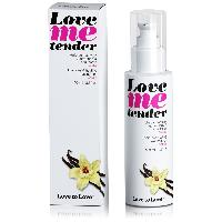 Bougie de massage Love To Love - Huile de massage Love Me tender saveur Vanille - 100 ml