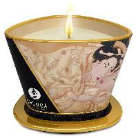 Bougie de massage SHUNGA - Bougie de massage Lueur et Carresse Vanille - 170 ml