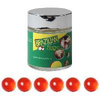 Boules bresiliennes Brazilian Balls - Boules Bresiliennes aromatisees Fruits des bois X6