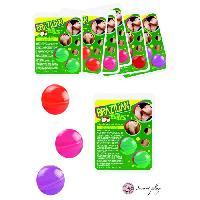 Boules bresiliennes LRDP - Set de 2 boules bresiliennes Comestibles Fraise -