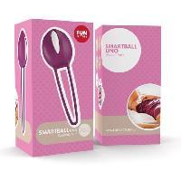 Boules de Geisha Fun Factory - Smartballs Uno Violet / Blanc