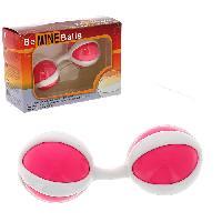 Boules de Geisha LRDP - Boules de geisha BeMine Rose/blanc