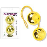Boules de Geisha LRDP - Boules de Geisha dorees - X-Orgasm