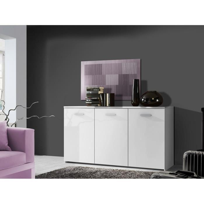 aucune passat enfilade blanc mat 150cm 262783. Black Bedroom Furniture Sets. Home Design Ideas