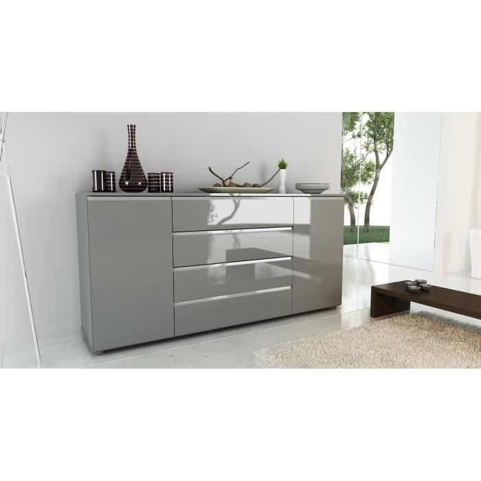finlandek salle a manger finlandek buffet pasha 180cm laque gris 354880. Black Bedroom Furniture Sets. Home Design Ideas