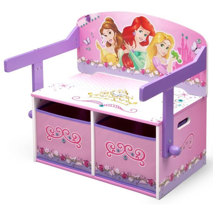 disney princesses bureau enfant en bois banc et pupitre. Black Bedroom Furniture Sets. Home Design Ideas