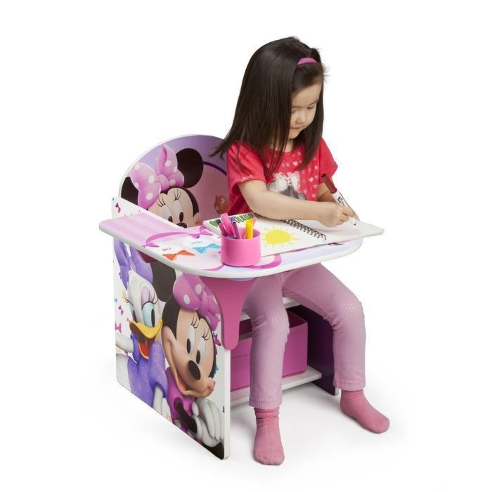delta children minnie chaise bureau enfant 270965. Black Bedroom Furniture Sets. Home Design Ideas
