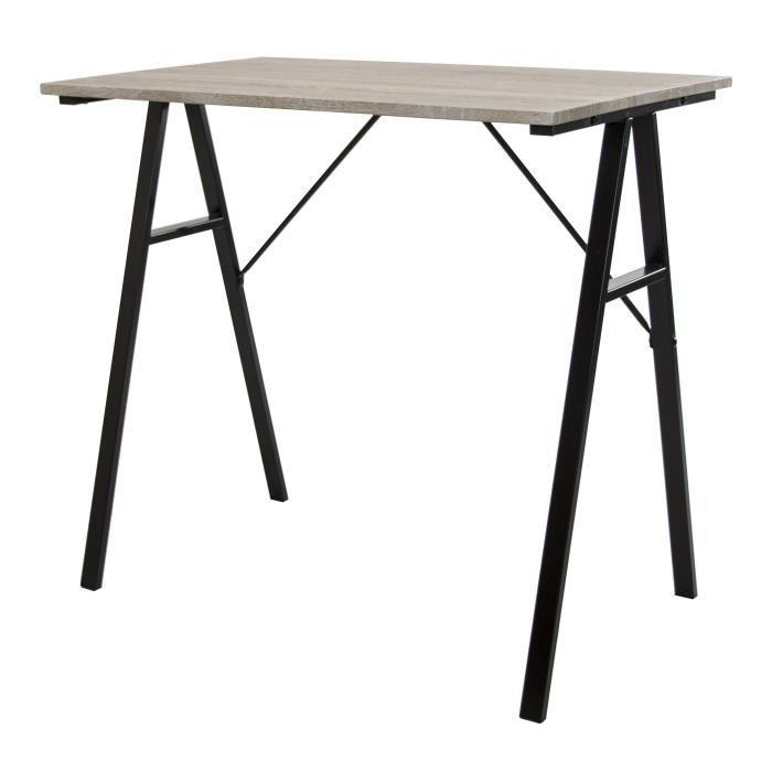 aucune calpe bureau 160 x 73 cm chene 262794. Black Bedroom Furniture Sets. Home Design Ideas