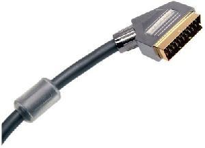 Cable - Connectique Tv - Video - Son Goldkabel - Cable Peritel Plus Or - Triple Blindage - Filtre - 10M