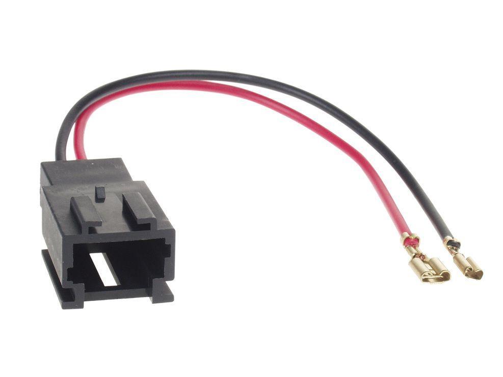 2 Cables Adaptateurs Haut Parleur Citroen Berlingo Ci