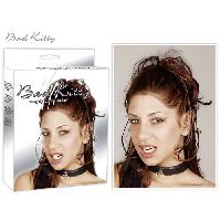Cagoules et Colliers Bad Kitty - Collier de soumission noir