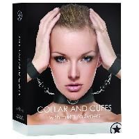Cagoules et Colliers Touche - Collier Noir avec Menottes