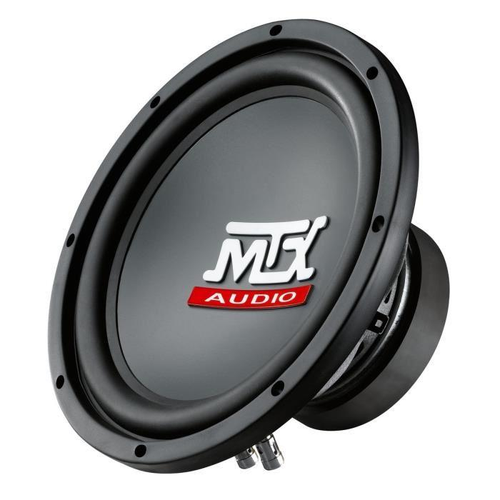 mtx audio mtx rt10 04 subwoofer 25 cm 4 250w 355433. Black Bedroom Furniture Sets. Home Design Ideas