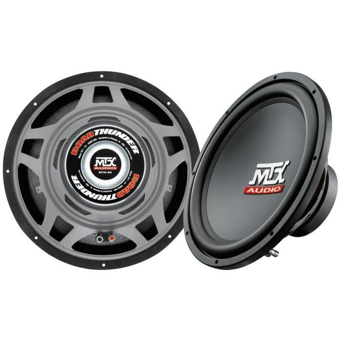 mtx audio mtx rt15 04 subwoofer 38 cm 4 300w 355437. Black Bedroom Furniture Sets. Home Design Ideas