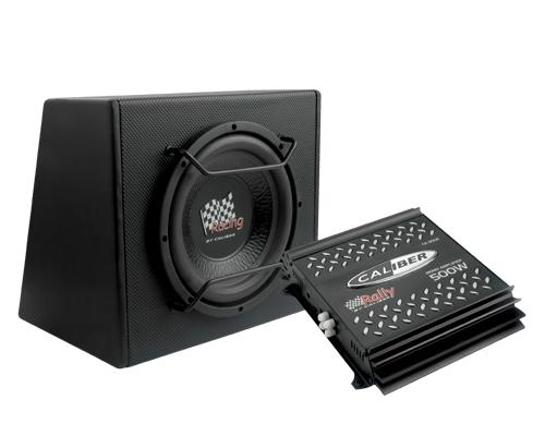 caliber pack 10p pack ampli mono 500w max subwoofer 500w max 75358. Black Bedroom Furniture Sets. Home Design Ideas