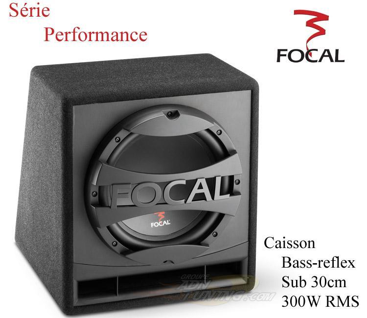 caisson de basse subwoofer focal sbp30 300w 128478. Black Bedroom Furniture Sets. Home Design Ideas