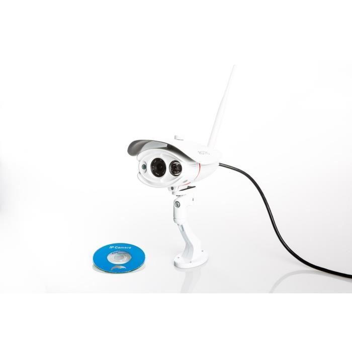 rotro rotro cam ra de surveillance exterieur ip wifi hd. Black Bedroom Furniture Sets. Home Design Ideas