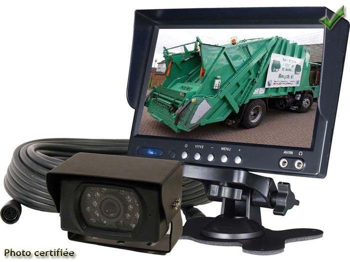 adnautomid kit camera de recul 7p 12 24volts 227621. Black Bedroom Furniture Sets. Home Design Ideas