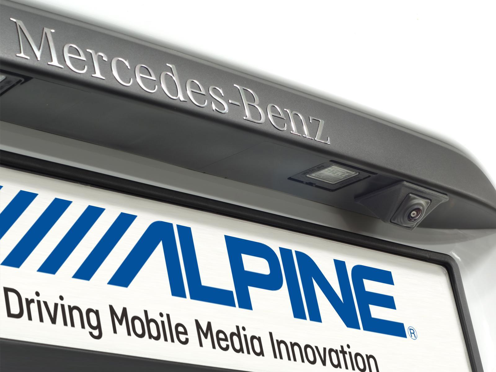 alpine kit r1v447 support de camera hce c252rd mercedes vito v447 306458. Black Bedroom Furniture Sets. Home Design Ideas
