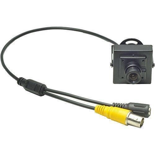 mid mini camera monochrome cmos 12v 20ma espion securite. Black Bedroom Furniture Sets. Home Design Ideas