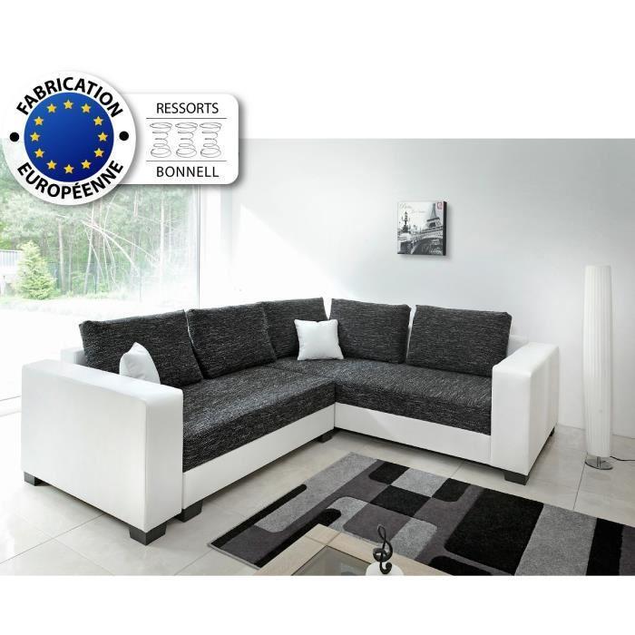 aucune come canap d 39 angle 5 places 254x223x85 cm 262940. Black Bedroom Furniture Sets. Home Design Ideas