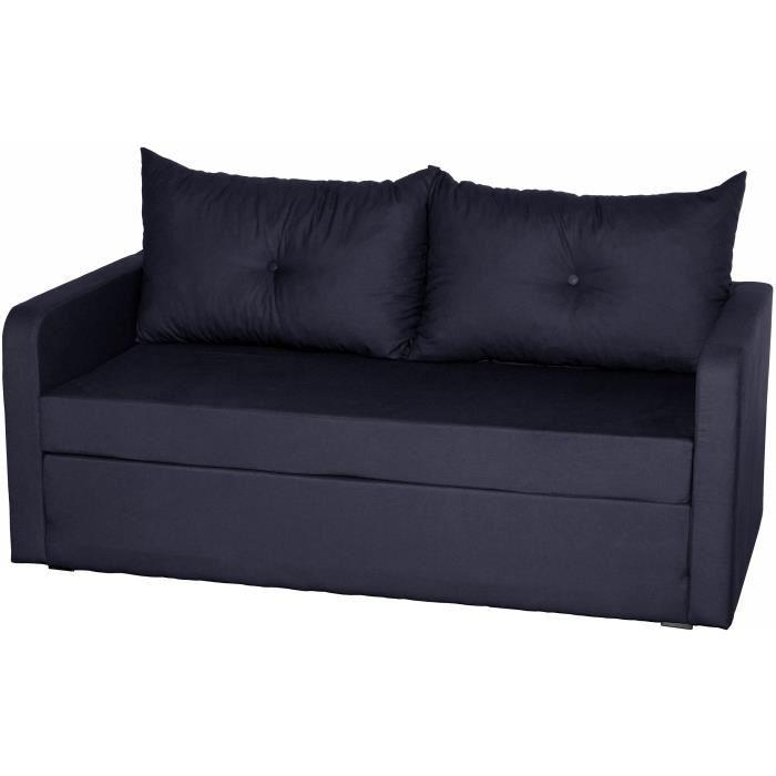 Canape sofa divan mid plateforme de distribution e for Canape droit convertible 2 places