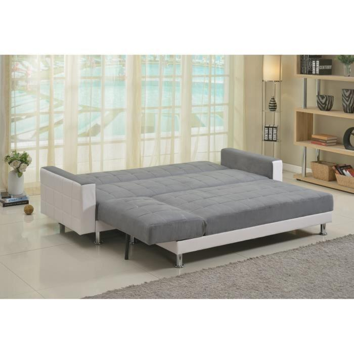 Luxury canap convertible lit angle r versible 4 places for Divan angle