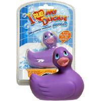 Canards vibrants et accessoires pour le bain Big Teaze Toys - Petit Canard Vibrant - Mauve - Version mini 8cm - format voyage