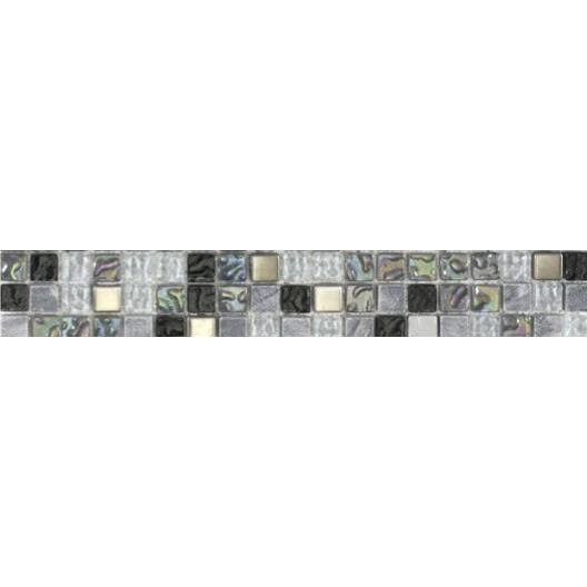 Carrelage Plaquette De Parement Brique De Verre Decor - Plinthe carrelage et tapis de bain bleu lagon